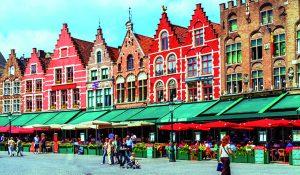Vintagemarked i Belgien